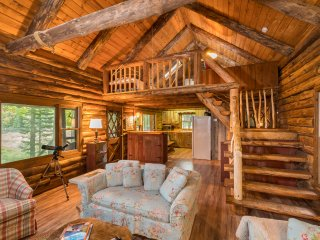 Authentic Log Cabin, Waterfront with Kayaks and Beautiful Views - Lake Pleasant vacation rentals