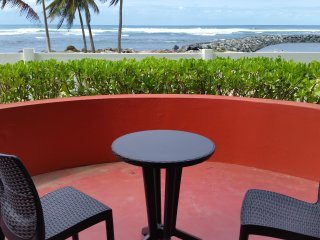 Beach Front Villa. The best view ocean front! Sleeps 6 - 8 - Dorado vacation rentals