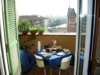 Studio Penthouse, stunning view, fully equipped - Rome vacation rentals