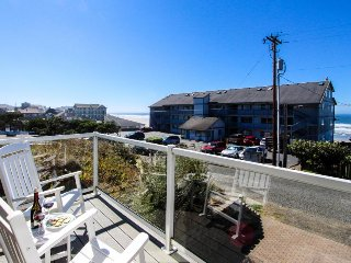 Upscale and spacious home w/ hot tub, beach access & ocean views! - Newport vacation rentals