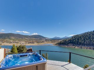 Spacious lakefront getaway w/ sweeping views, private hot tub, and shared pool! - Dillon vacation rentals