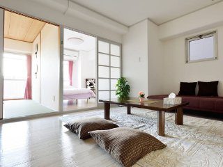 2 bedroom & 1 living room 7mins Shin-Osaka station - Osaka vacation rentals