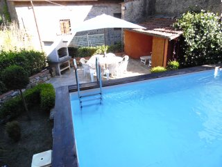 Spacious Village apartment with private Pool - Benabbio vacation rentals