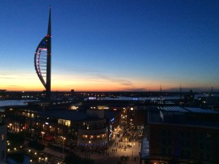 Top floor luxury Gunwharf Quays Seaview Balcony - Portsmouth vacation rentals