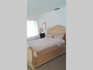 Master Bedroom with bath - Port Saint Lucie vacation rentals