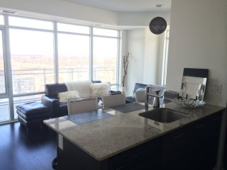 Luxury Furnished Apartment - 1 Bedroom + Den - Mississauga vacation rentals