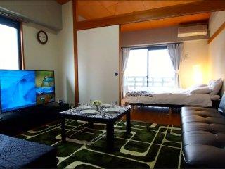 1min !!Gion 5min Hakata Luxury 1BR#5806169 - Fukuoka vacation rentals