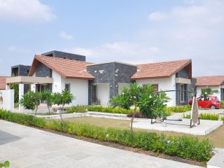 Beautiful Villa with A/C and Shared Outdoor Pool - Rajkot vacation rentals
