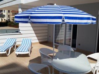 1+1 Apartment with a big terrace - Alanya vacation rentals