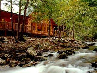A River Runs Through It - Rumbling Bald Resort - Lake Lure vacation rentals