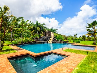 Kauai Fun House - Huge Pool With Slide - 5 Bedroom - Kilauea vacation rentals