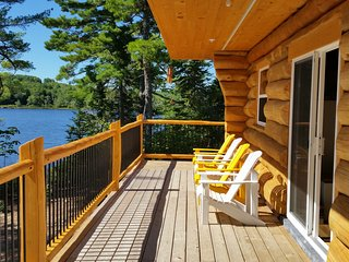 A lakeside log cottage near Kejimkujik - New Germany vacation rentals