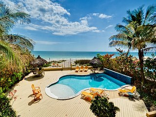Sugar Sands Beachfront Retreat On the Beach 2 Bedroom 1 Bath Unit with Brand New Pool - Madeira Beach vacation rentals
