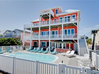 Bright House with Shared Outdoor Pool and Hot Tub - Emerald Isle vacation rentals