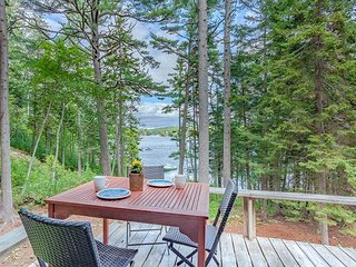 Chic Studio Cabin in Boothbay Harbor: Ocean Views, Sprucewold Beach Access - Boothbay Harbor vacation rentals