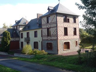 Romantic 1 bedroom Manor house in Saint-Samson-de-Bonfosse - Saint-Samson-de-Bonfosse vacation rentals