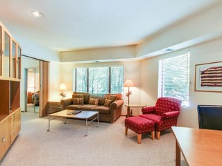 Ski-in/ski-out condo with views and a shared hot tub, pool, sauna & tennis! - Alpine Meadows vacation rentals