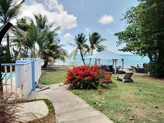Villa 3CH- piscine, accès mer, plage proche à pied - Sainte-Luce vacation rentals