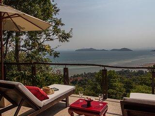 Tropical Island Sea View Pool Villa - Laem Set vacation rentals