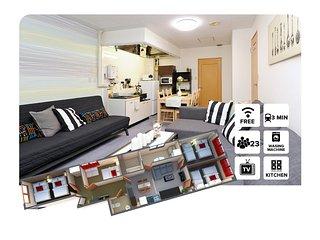 4 Rooms Few min from station near Osaka-Jo #TANI - Osaka vacation rentals