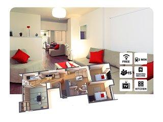 SHIMA#3 4 Bedrooms 難波&心斎橋付近! - Osaka vacation rentals