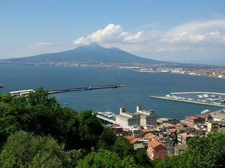 B&B Villa Panorama - splendid view and pool - wifi - Castellammare Di Stabia vacation rentals