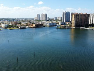 """PENTHOUSE"" in the SKY - AMAZING WIDE BAY VIEWS ! - Sunny Isles Beach vacation rentals"