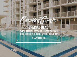 MIAMI - Coconut Grove 3BR Furnished Suites near Downtown - Miami vacation rentals