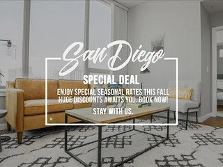 San Diego 3Bed Highrise Suites Walk to  Gaslamp District - San Diego vacation rentals