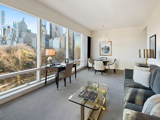 Luxury 2 Bedroom Condo With Intimate Central Park views, next to Columbus Cir. - New York City vacation rentals