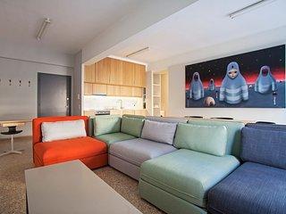 2 stylish, apts, balconies, local feel, sleep 12 - Athens vacation rentals