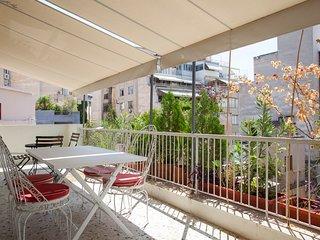 3 comfortable apts, balconies, great location! - Athens vacation rentals