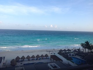 Ocean View from high above - Cancun vacation rentals