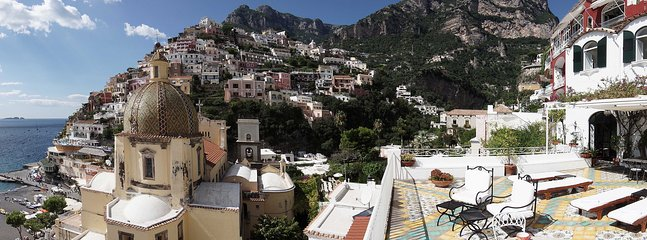 Beautiful Villa in Center of Positano with Sea Views  - Villa Santa - Image 1 - Positano - rentals