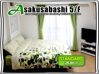 5/F BEST VIEW! BRIGHT ROOM FOR 4! - Taito vacation rentals