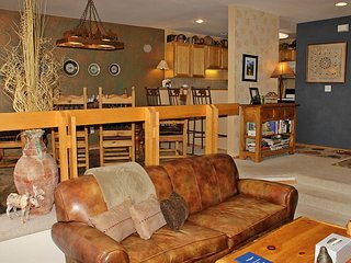 Fantastic 3 bedroom townhome with wifi, pet friendly, King bed, and hot tub - Silverthorne vacation rentals