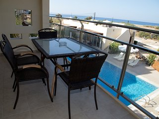 Luxury Mezzanine Apartment with pool and sea view - Makry-Gialos vacation rentals