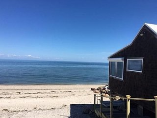 Brand new affordable beach cottage , located directly on the beach! - Calverton vacation rentals