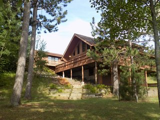 Beautiful Log Home on Peaceful Lake & Guest Cabin - Pequot Lakes vacation rentals