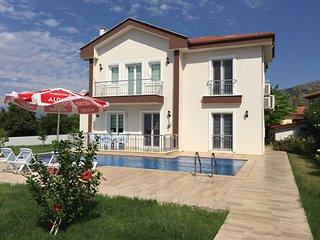 Private New Villa Sleeping Eight, Private Pool, Garden, BBQ - Dalyan vacation rentals