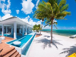 "Luxury 6BR Oceanfront Estate with 150' Pool and 2 Hot Tubs - ""Point of View"" - George Town vacation rentals"