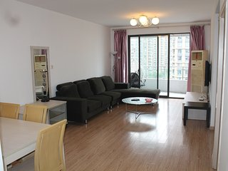 Spacious/Newly Deco/Large 2bd 120sq apt Gym L3/4/7 - Shanghai vacation rentals