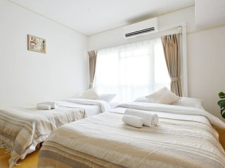 Osaka  Apartment Namba Shinsaibashi Free Wifi - Osaka vacation rentals