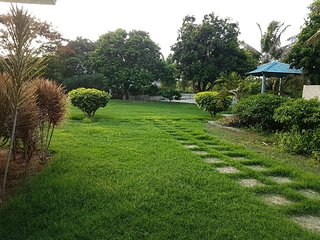 Green house with huge lawn, car parking and bbq - Medchal vacation rentals