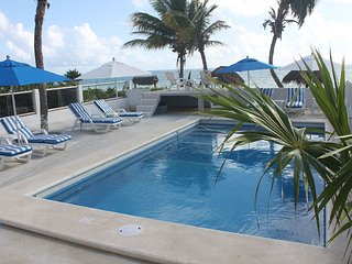 New Pool!!   Plus------ Large Private Beach in Front----Best of both Worlds!!!! - Puerto Morelos vacation rentals
