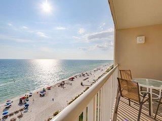 Enjoy this GULF FRONT condo w/ PRIVATE BALCONY, 4 pools, theater, and arcade! - Panama City Beach vacation rentals