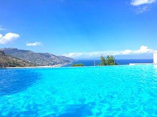 PANORAMIC PENTHOUSE with Terrace Pool + View Taormina - Taormina vacation rentals