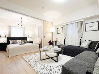 Luxe room!/Tsukiji/Ginza/2mins from sta/5ppl - Chuo vacation rentals