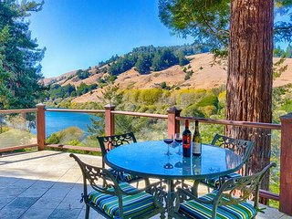 Monte Rio Craftsman Home w/ Russian River Views & Redwood Decks - Occidental vacation rentals