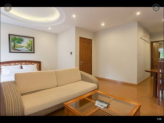 D201 Corner Studio, 5 windows, private balcony - Palmo Serviced Apartment 2 - Hanoi vacation rentals
